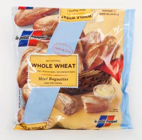 Whole-Wheat Mini-Baguettes: # 02-400 Original Mini-Baguettes: # 02-500